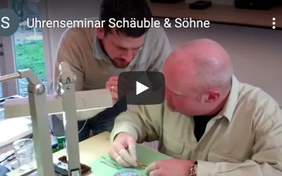 Uhrenseminar bei Schäuble & Söhne