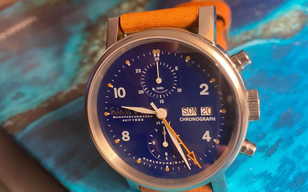 Sport Chrono Blue/Orange